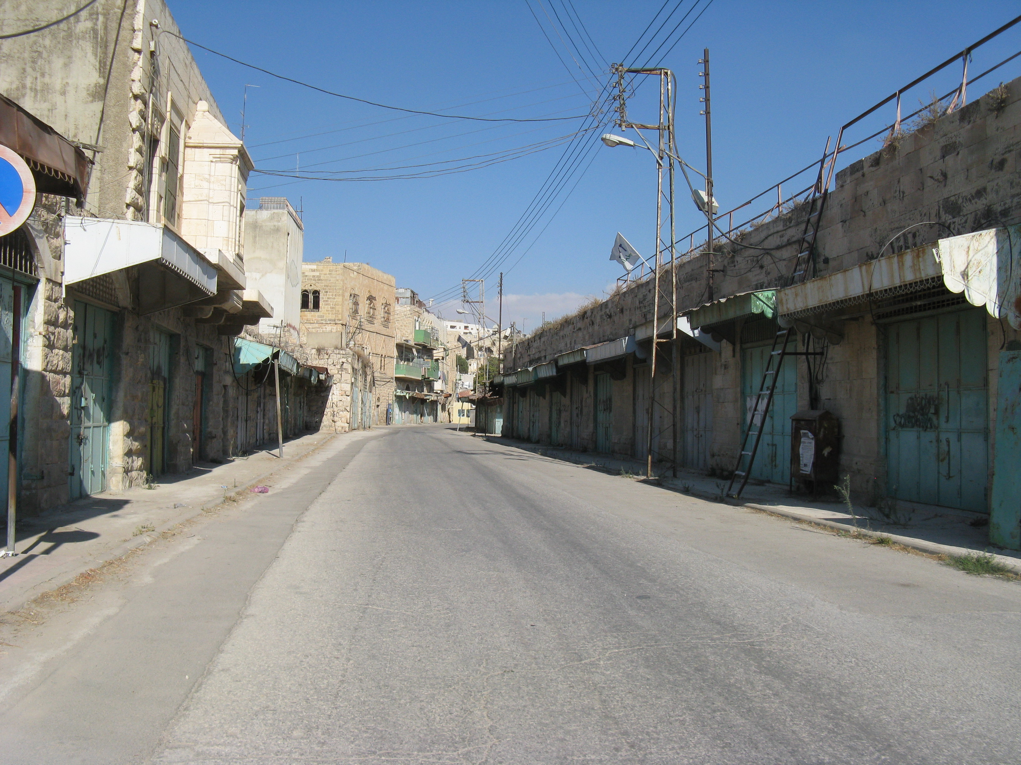 shuhada street hebron